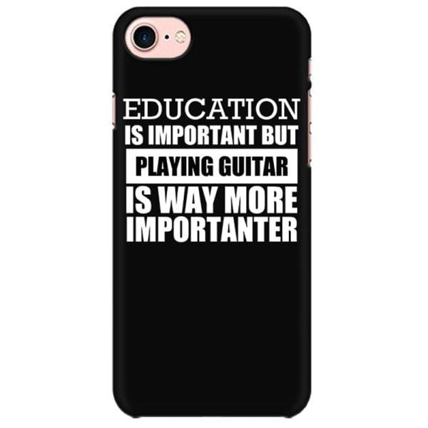Guitar is Importanter Mobile back hard case cover - K3SZ3MG5X4L2