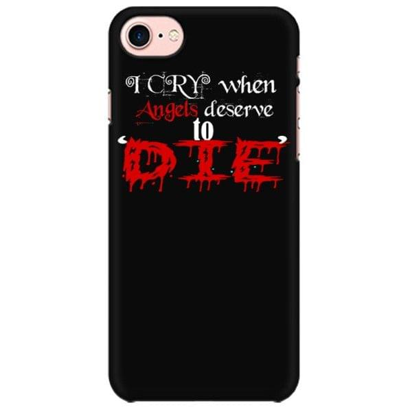 System of a Down SOAD - Angel deserve to Die Mobile back hard case cover - FWUDQZC59ZAA