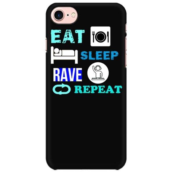 Eat Sleep Rave Repeat Mobile back hard case cover - GBFTSMTJJ32R