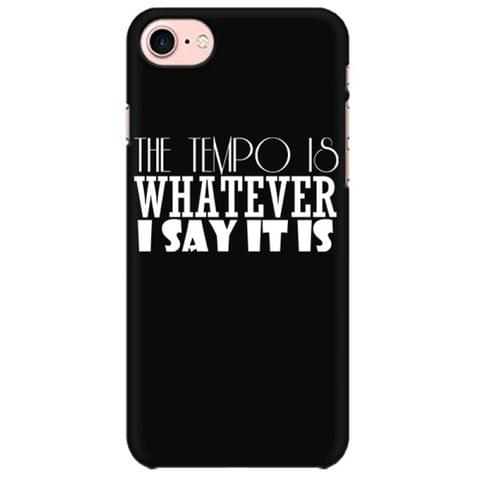 Drummer : The tempo is whatever I say is Mobile back hard case cover - GXL1UB4JFPGR