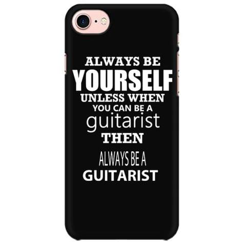 Always be a Guitarist Mobile back hard case cover - EFZKW31R3CGA