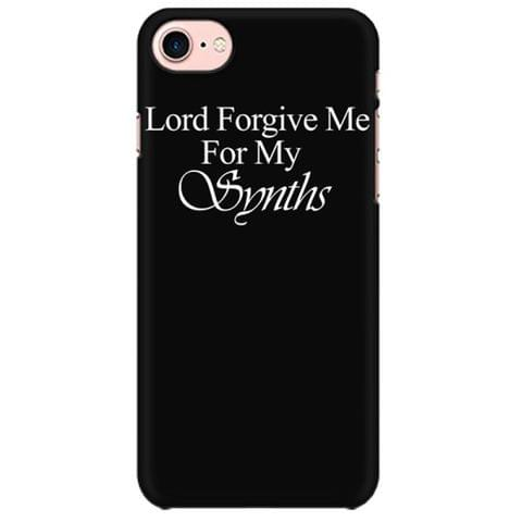 Lord forgive me for my Synths Mobile back hard case cover - EGPU8F1SCX2J