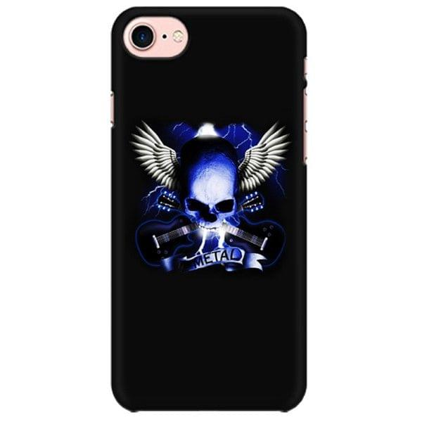 Skull and Wings Guitar  Mobile back hard case cover - EP59E49Y4APY4L3