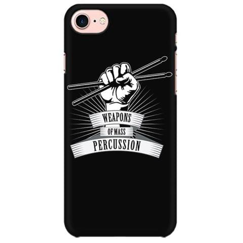 Weapon of Mass Percussion - Drummer  Mobile back hard case cover - F4WN8LVA66SB82Q