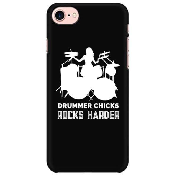 Drummer Chicks rock harder New Design Mobile back hard case cover - AFKSCTE2SCEQ