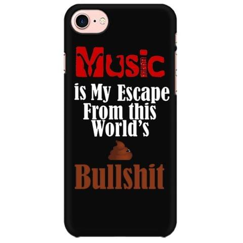 Music is my Escape Mobile back hard case cover - 9ACDTQ77U63V