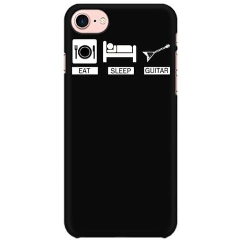 Eat Sleep Guitar Mobile back hard case cover - 9FHLA1JUXHSW