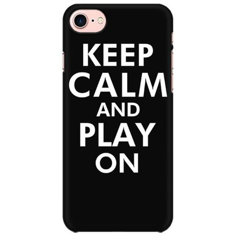 Keep calm and Play on Mobile back hard case cover - 9KGVLSZYPGZA