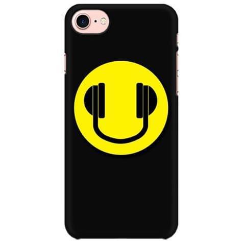 Headphones smiley Mobile back hard case cover - 6YWMD5M9342U
