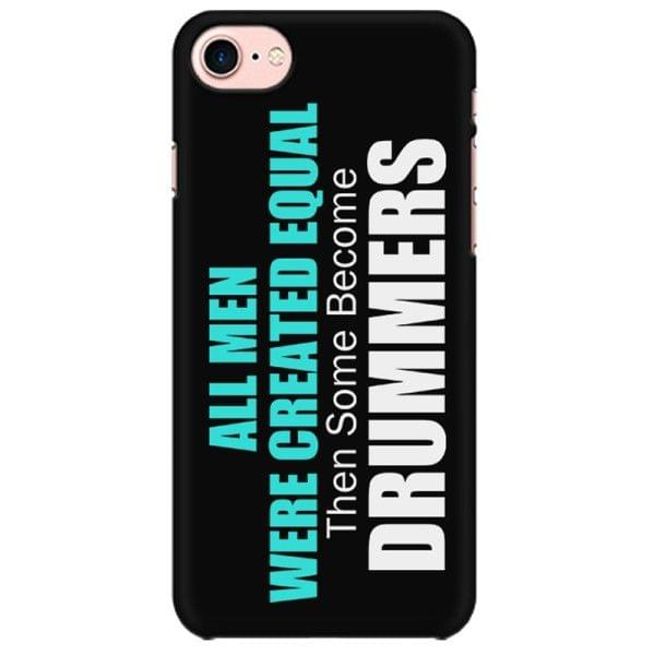 Drummers are not Normal Mobile back hard case cover - 7KQTTFTTNM5J