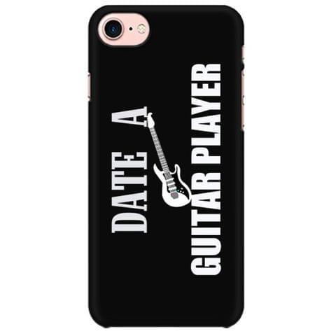 Date a Guitarist Mobile back hard case cover - 7WA65AE9X8WX