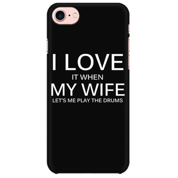 I love my Drums Mobile back hard case cover - 5FUT6W3X6FB2
