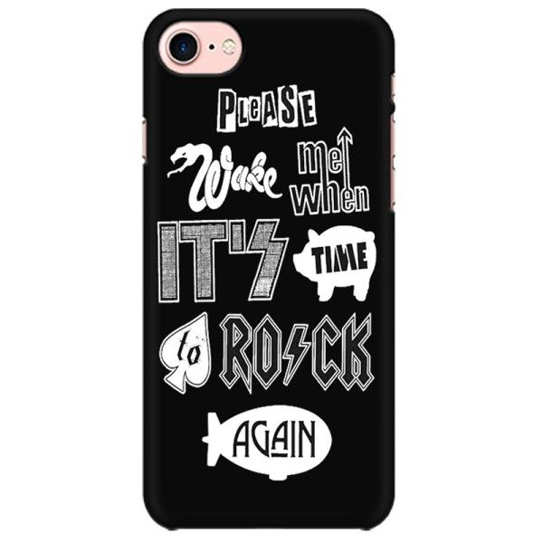 Time to Rock Again ? Ac Dc Led Zeppelin Sex Pistols Pink Floyd The Who Kiss Punk Rock Hard Rock Classic Rock Heavy Metal Progressive Rock  Mobile back hard case cover - 5GM3PDLMKJFWPEK