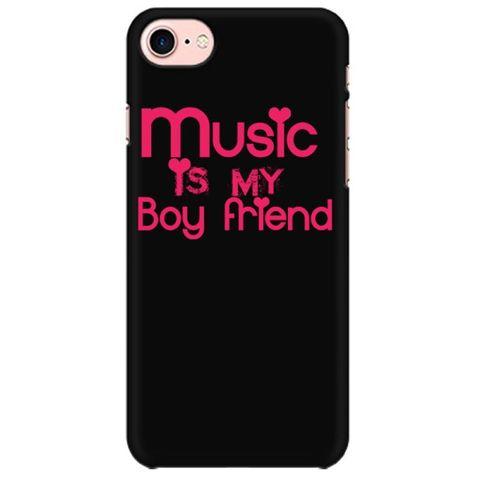 Music is my Boyfriend Mobile back hard case cover - 5MF5RV5YYM94