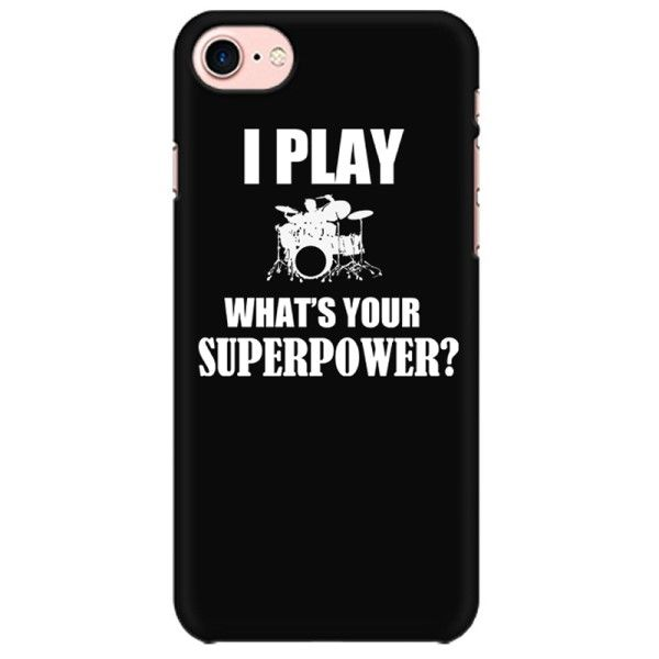 Drummer Superpower Mobile back hard case cover - 5N37QJK85A3V