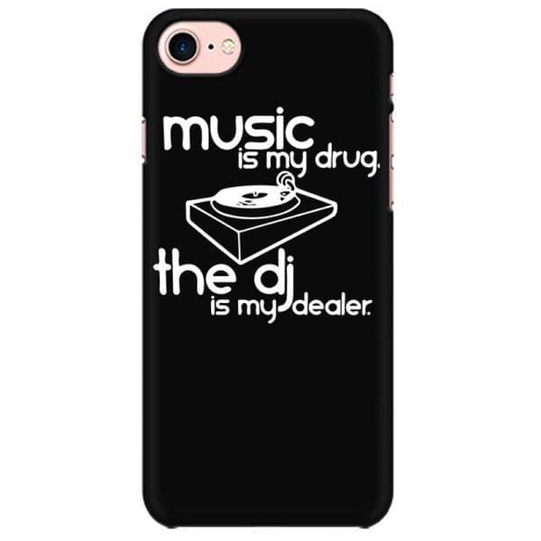 Music is my Drug DJ is my Dealer rock metal band music mobile case for all mobiles - 676NEX5BP8E9JKZR