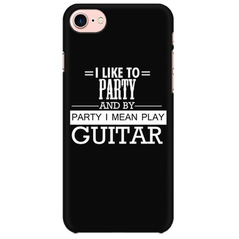 Party by Guitar Mobile back hard case cover - 6J2X7NTGZVKK
