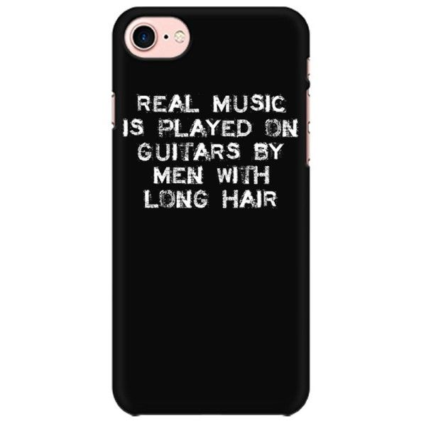 Musician Men with Long Hair Mobile back hard case cover - 6R77SC34YLDH