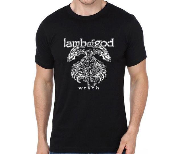 Lamb of God Wrath rock metal band music tshirts for Men Women Kids
