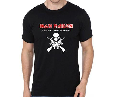 Iron Maiden A matter of life and Death rock metal band music tshirts for Men Women Kids