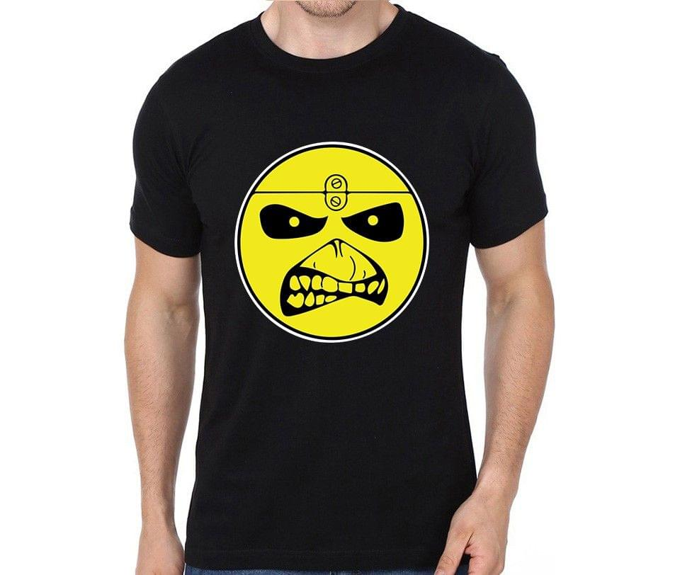 Iron Maiden Smiley rock metal band music tshirts for Men Women Kids