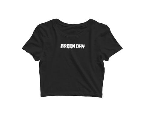 Green Day   Croptop for music lovers