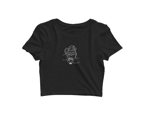 Don?t let me See, Speak Trip psy Trippy Psychedelic   Croptop for music lovers
