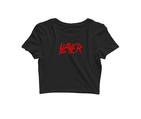 Slayer   Croptop for music lovers