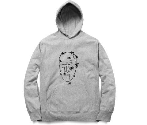 Mind is dead Trip psy Trippy Psychedelic   Unisex Hoodie Sweatshirt for Men and Women
