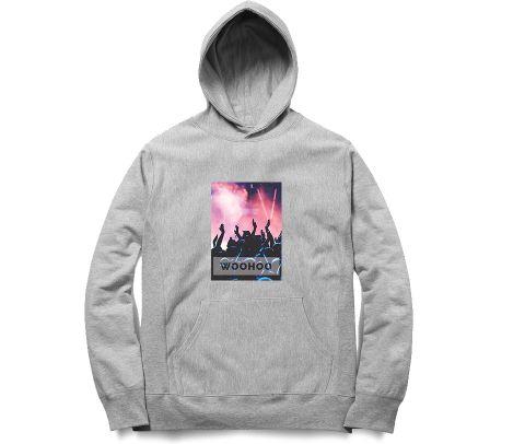 Blur   Woo hoo  Unisex Hoodie Sweatshirt for Men and Women