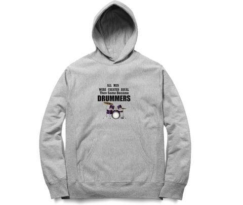 Unequal Drummer   Unisex Hoodie Sweatshirt for Men and Women