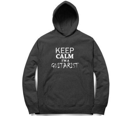 Keep calm I am Guitarist   Unisex Hoodie Sweatshirt for Men and Women
