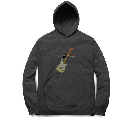 Pink Floyd through my Guitar New Design   Unisex Hoodie Sweatshirt for Men and Women