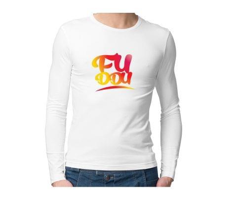 Fuddu  Unisex Full Sleeves Tshirt for men women