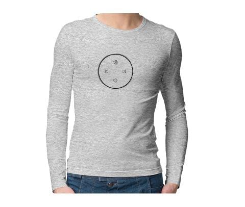 Pause Next Play All Day  Unisex Full Sleeves Tshirt for men women