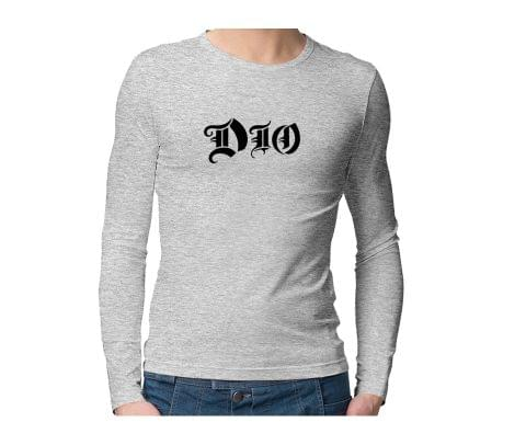 DIO  Unisex Full Sleeves Tshirt for men women