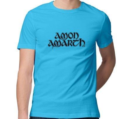 Amon Amarth  Men Round Neck Tshirt