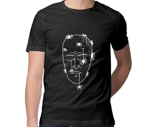 Mind is dead Trip psy Trippy Psychedelic  Men Round Neck Tshirt