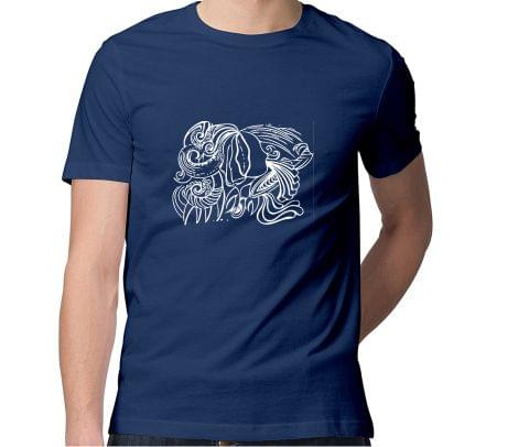 Tantra Magic  Men Round Neck Tshirt