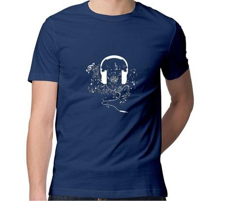 Its all about music Brah !  Men Round Neck Tshirt