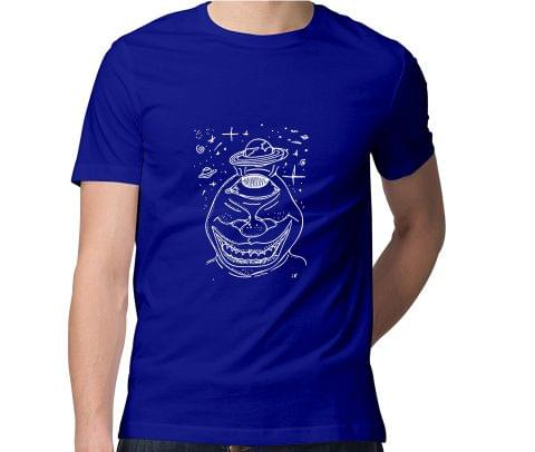 Hell of a Trip  Men Round Neck Tshirt