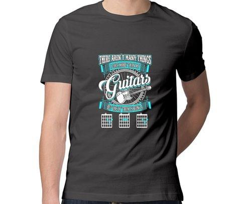 Guitar DAD New Design  Men Round Neck Tshirt