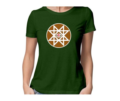Gate to hell   Hellgate round neck half sleeve tshirt for women