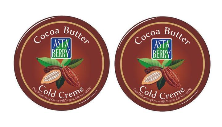 Astaberry Cocoa Butter Cold Creme (Pack Of 4)