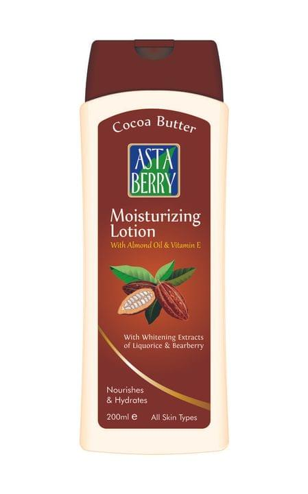 Astaberry Cocoa Butter Moisturiser, 400ml (Pack Of 4)