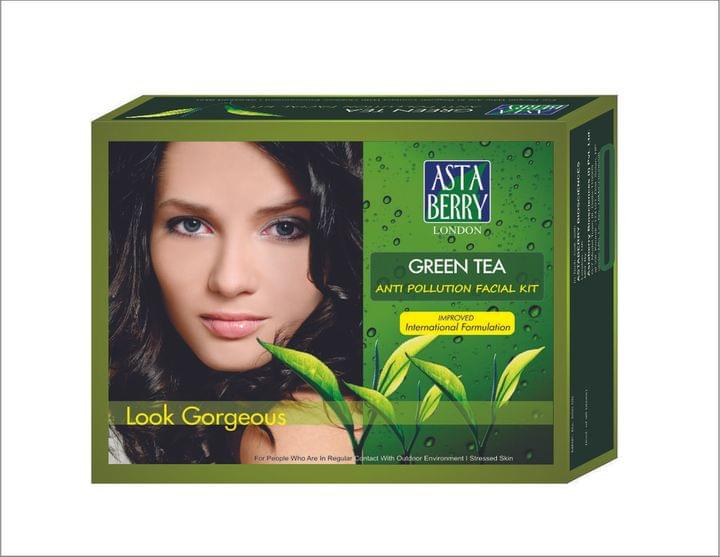 Astaberry Green Tea Kit-Set Of 6, 500Gm