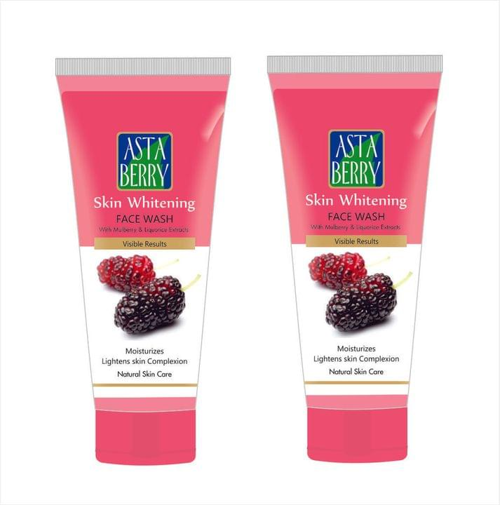 Astaberry Skin Whitening Face Wash (Pack Of 2)