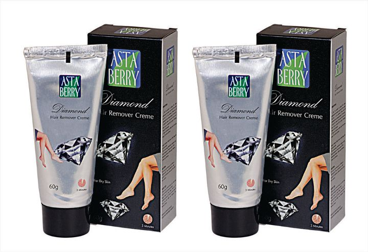 Astaberry Diamond Hair Remover Creme (Pack Of 4)