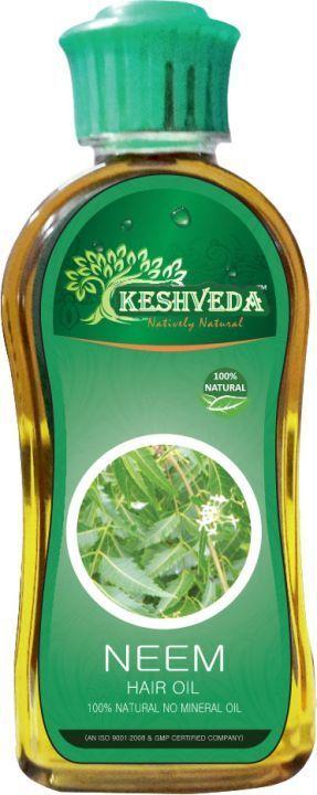 Keshveda Neem Hair Oil (Pack Of 3)