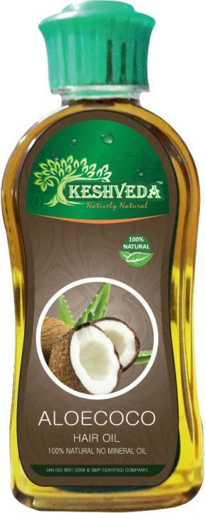 Keshveda Aloecoco Hair Oil (Pack Of 3)